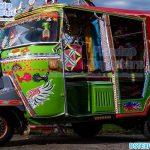 Indian Auto Rickshaw For Wedding Photoshoot