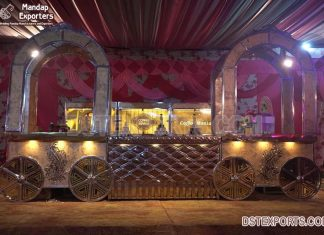 Latest Wedding Food Stall Buffet Design