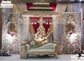 Manavarai Wedding Theme Stage Decoration