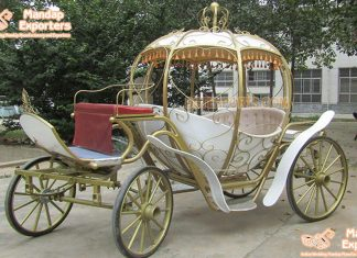 Royal Wedding Cinderella Coach For Princess