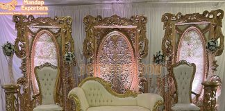 Royal Wedding Stage Italian Furniture Set