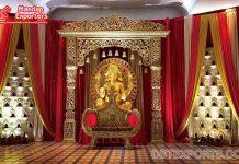 Sri Lankan Bollywood Style Wedding Stage