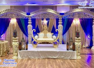 Trending Open Style Wedding Stage Decoration