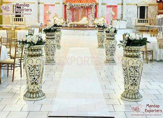 Wedding Walkway Pillars Manufacturer & Exporter