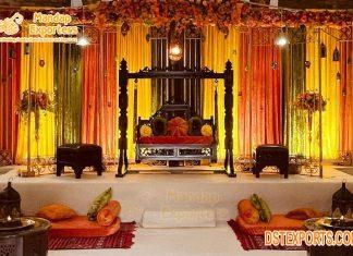 Wedding Mehndi Night Bridal Swing Set