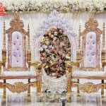 Wooden Made Wedding Stage Chairs
