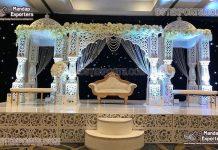 Asian Luxury Wedding Stage Decor Atlanta