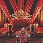 Asian Wedding High Throne Sofa Set