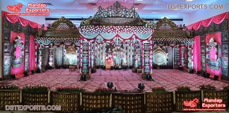 Big Fat South Indian Wedding Mandap Decoration