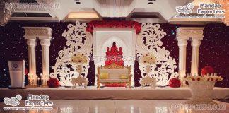 Big Fiber Paisleys Style Wedding Frame Decoration