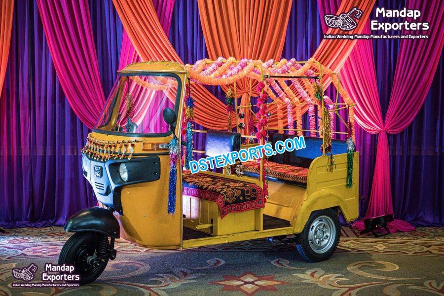Buy Auto Rickshaw For Wedding Photoshoot