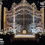 Grand Frp Gate Frame Backdrop For Wedding Stage