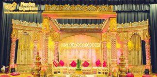 Grand Palace Theme Indian Wedding Mandap