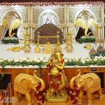 Indian Grand Wedding Traditional Stage Decor