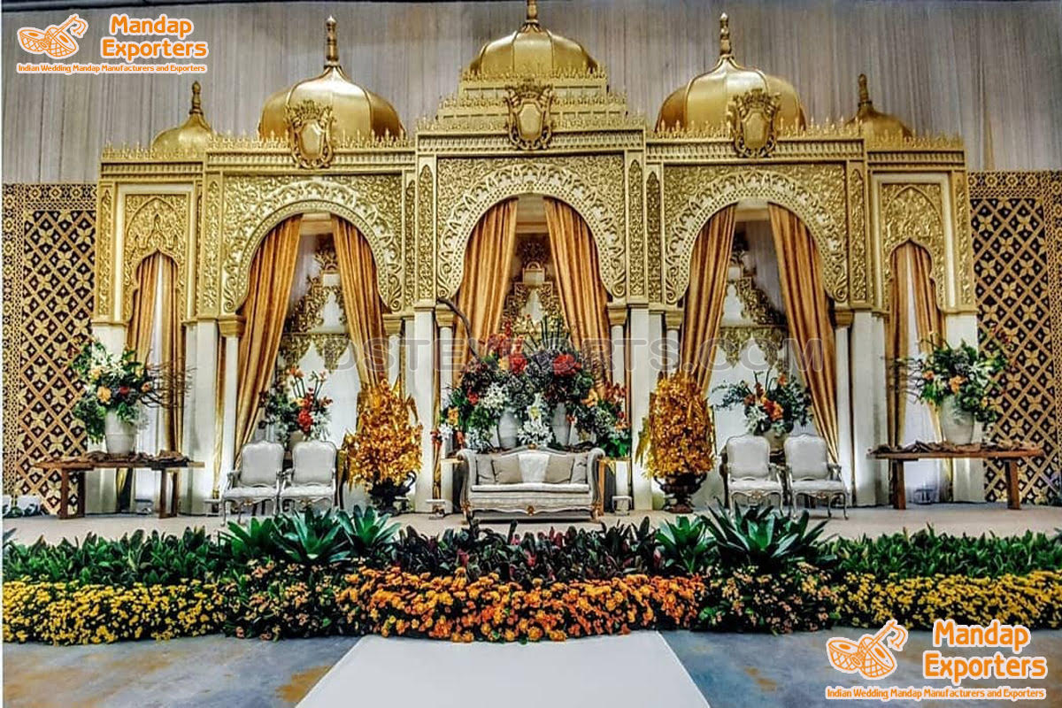 Maharaja Style Exclusive Wedding  Stage Setup