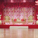 Modern Asian Wedding Stage Decoration