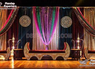 Muslim Wedding Mughal Style Sofa Set