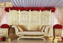 Muslim Wedding Stage Divider Frame Decor