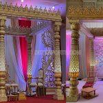 New Style Dazzling Wedding Mandap Set