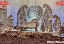 New Style Wedding Stage Backdrop Frames Decor