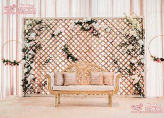 New Trendy Metal Frames For Wedding Backdrop