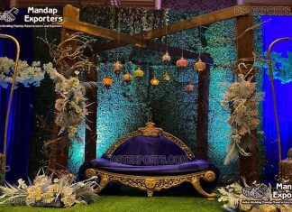 Nigerian Style Wedding Stage Couch