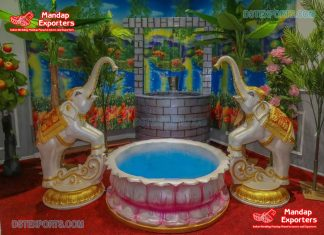 Outdoor South Indian Puberty Function Decor