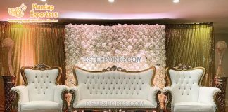 Royal Princess Wedding Sofa Set Decoration
