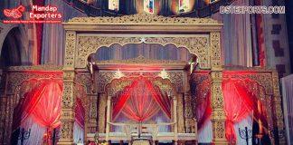 Royal Style Bollywood Wedding Mandap Design