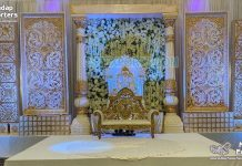 South Indian Wedding Concept Grand Stage Decor