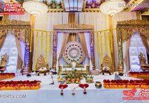 Stunning South Indian Wedding Stage Set
