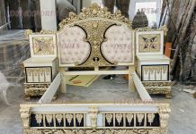 Hand Carved Luxury Bedroom Furniture