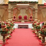 Traditional Big Fat Wedding Mandap Set