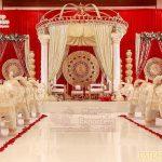 Traditional Indian Roman Pillar Mandap