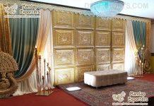 Traditional Wedding Event Backdrop Door Panels