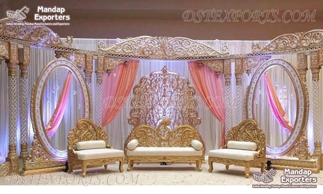 Trending Wedding Stage Decoration USA