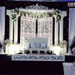 White Stylish Wedding Stage Set Melbourne