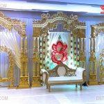 New Malay Traditional Wedding Stage Setup