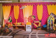 Pre Wedding Punjabi Mehndi Sangeet Decorations