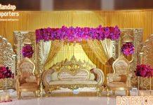 Tamalian Indian Style Wedding Stage Setup