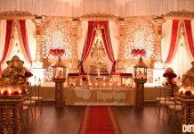 Tamilian Indian Wedding Stage Decoration