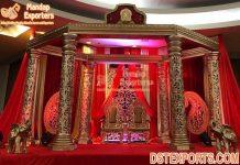 Traditional Maharaja Mandap For Wedding Decoration