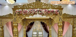 Unique Indian Wedding Bollywood Theme Mandap