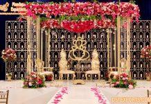 Wrought Iron Wedding Mandap Decoration